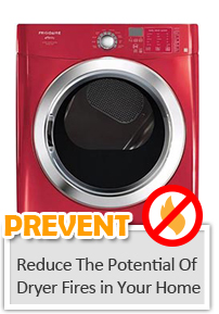 prevent dryer fies